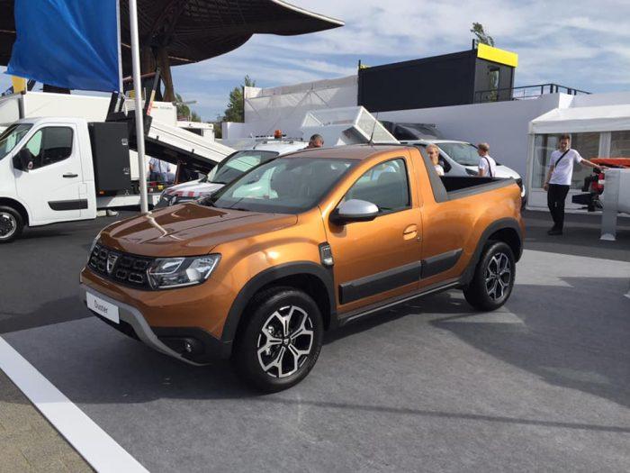 Dacia Duster Pickup, listo para su estreno