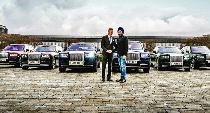Se compra seis Rolls-Royce para que hagan juego con el color de sus turbantes