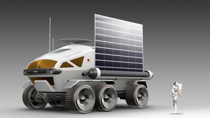 EL ROVER DE TOYOTA QUE EXPLORARÁ LA LUNA b88d2ffa toyota fuel cell electric lunar rover project 5 700x394