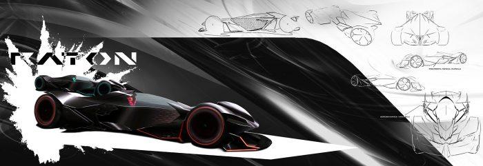 Lamborghini Raton, la aerodinámica llevada hasta las últimas consecuencias