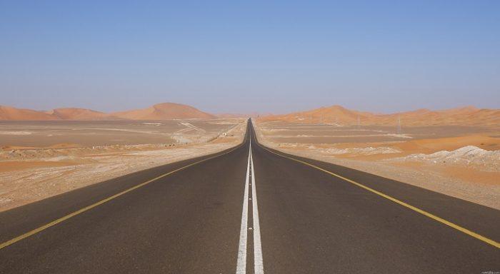 La recta en carretera más larga del mundo