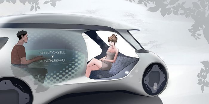Honda Onsen, un baño termal sobre ruedas