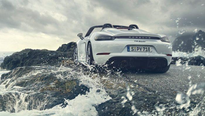 Porsche 718 Spyder 2020: clase y deportividad