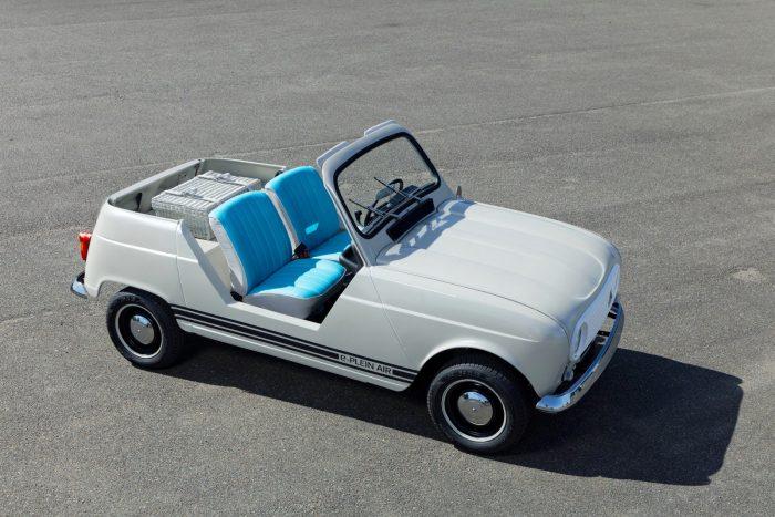 Renault e-Plein Air, con sabor clásico