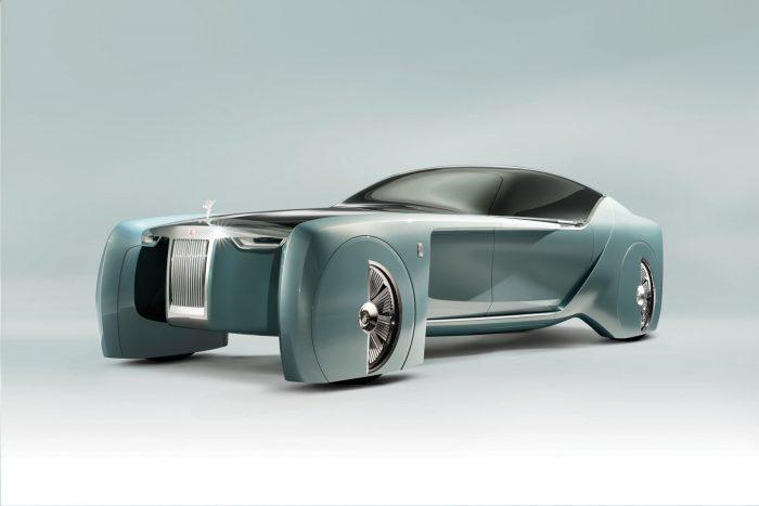 Rolls-Royce 103EX, el coche de lujo del año 2035