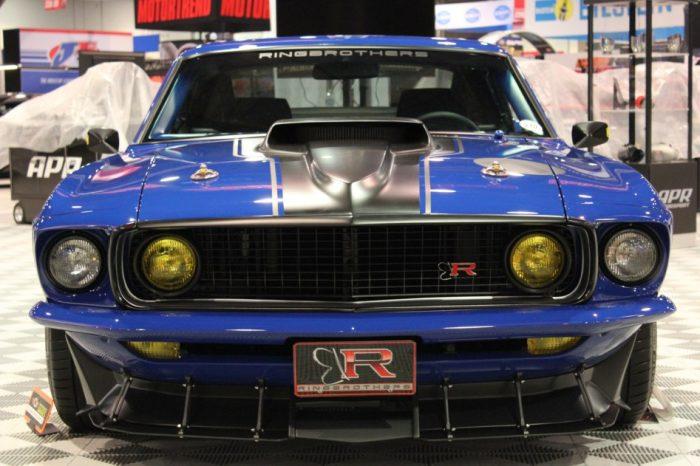 Los profesionales del tuning Ringbrothers alcanzan la perfección con un Mustang 8.5 litros V8