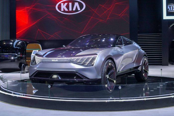 Kia Futuron: el SUV coupé coreano, eléctrico y autónomo