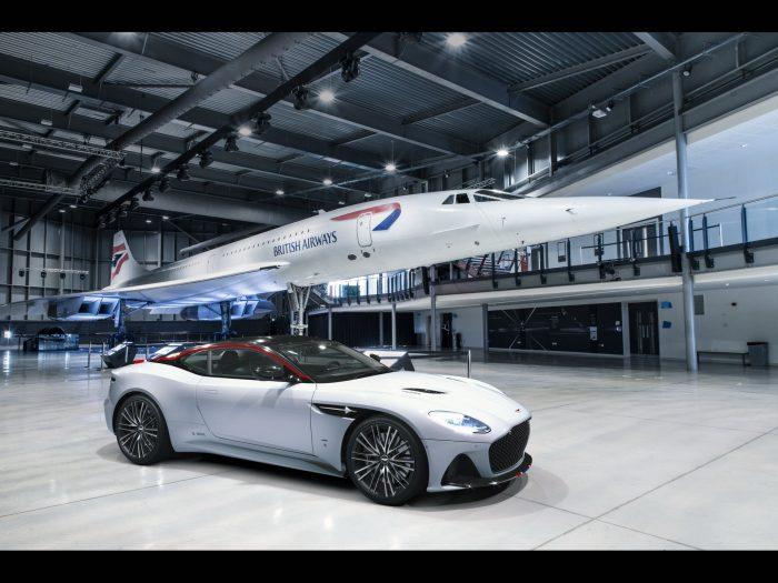 Aston Martin DBS Superleggera Concorde, una serie especial de altos vuelos