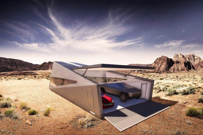 Cybunker: el garaje especial para el Tesla Cybertruck