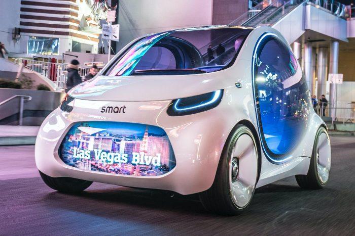 Mercedes y Geely lanzarán un nuevo Smart eléctrico inteligente desde China