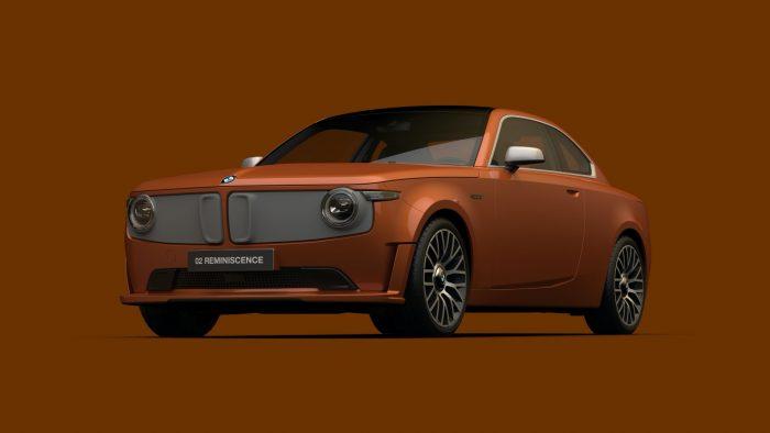 BMW 02 Reminiscence Concept, el regreso del coche eléctrico de la Olimpíada de Munich 1972