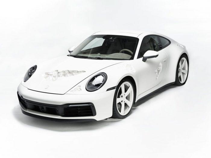 El Porsche 911 Carrera 4S de cristal erosionado
