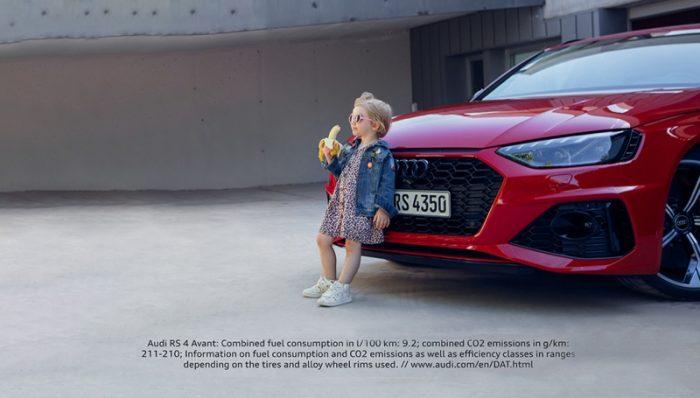 Mentes enfermas: Audi retira un anuncio donde aparece una niña comiendo una banana