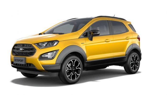 El nuevo Ford EcoSport Active, listo para 2021