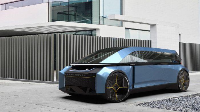 El Range Rover urbano y autónomo de Tomas Zumalakarregui