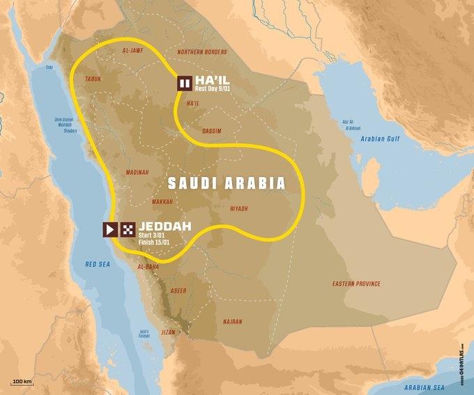 Rally Dakar 2021, la nueva aventura en el desierto