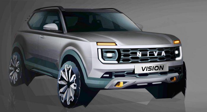 """Lada Niva Vision, el nuevo SUV """"made in Russia"""" (vídeo)"""