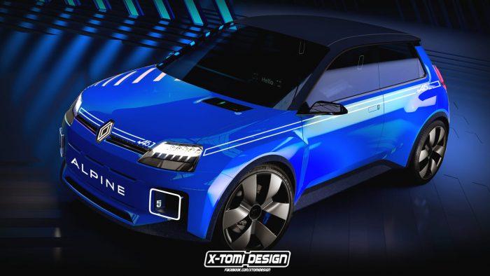 El Futuro Renault 5 Alpine: eléctrico y deportivo