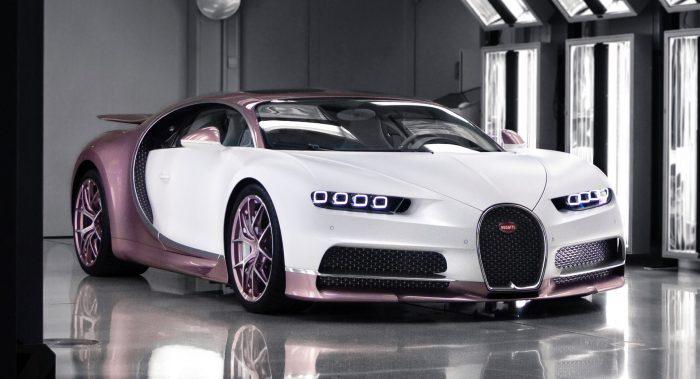 El Mejor regalo de San Valentín: un Bugatti Chiron Sport totalmente personalizado