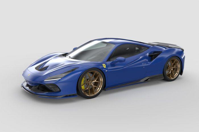 La impresora 3D para las piezas de la carrocería del Ferrari F8 Tributo