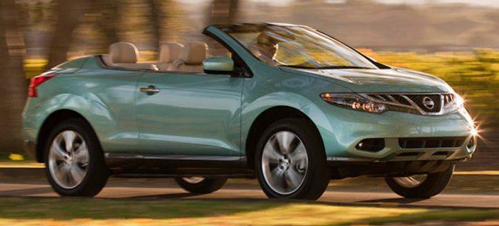 """Nissan Murano CrossCabriolet, ¿el descapotable más feo de la historia"""""""