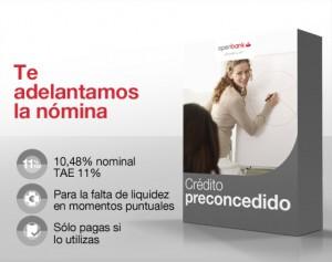CREDITO PRECONDEDIDO de openbank
