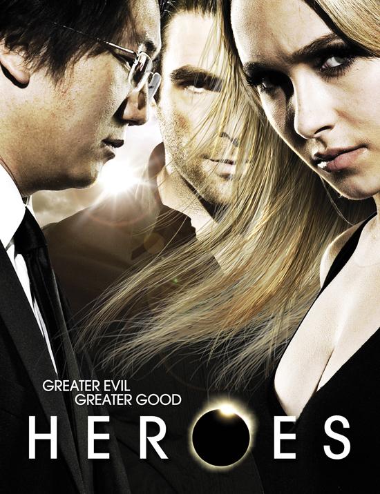 Cuarta temporada de Héroes: Poster oficial - Series Adictos