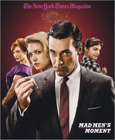 Mad Men renueva para una cuarta temporada - Series Adictos