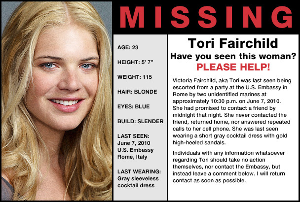 Persons Unknown la nueva Perdidos Series Adictos – Funny Missing Person Poster