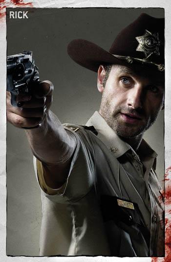 The Walking Dead, Nueva serie de FOX. Rick-350