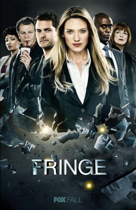 Poster cuarta temporada Fringe - Series Adictos