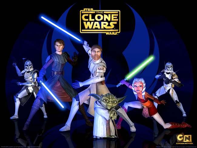 La Guerra de los Clones regresa, pero en Netflix.