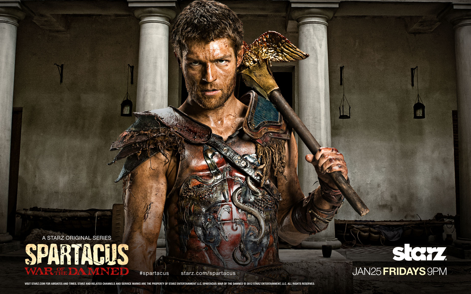 Spartacus Archives - Series Adictos
