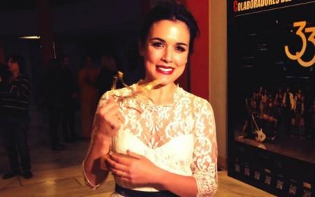 Adriana-Ugarte-feliz-premio-Union-Actores-tiempo-costuras