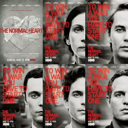 La normalidad a corazón HBO-sida-Julia-Roberts-Jim Parsons-compañero-Bomer