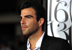 Actor Zachary Quinto arrives for the Los