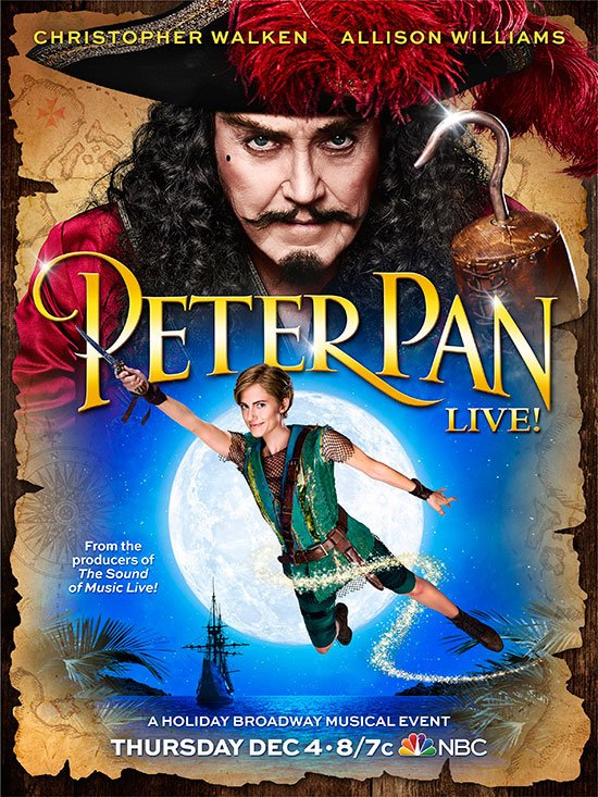 allison-williams-flies-in-peter-pan-live-poster
