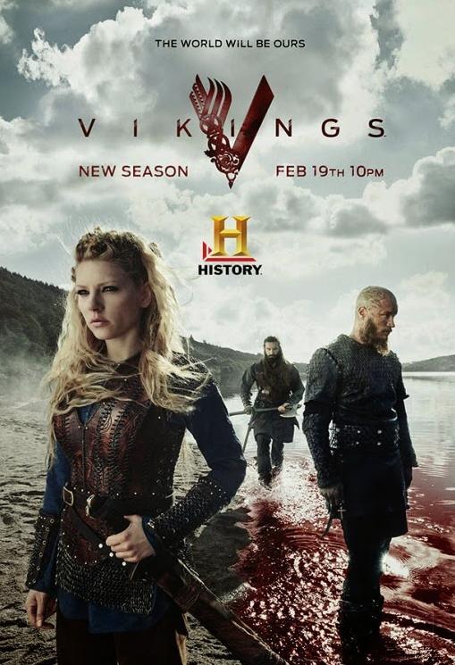 Afiches y tráiler Vikings