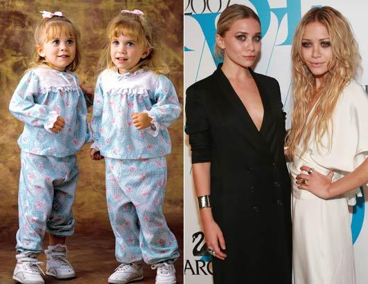 Michelle Tanner antes y después