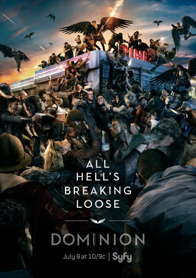 impresionante poster de la segunda temporada de dominion