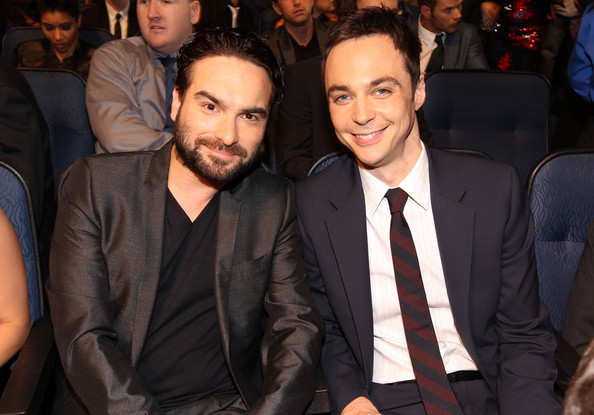 Jim Parsons y Johnny Galecki