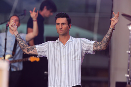 "Maroon 5 Perform On NBC's ""Today"""