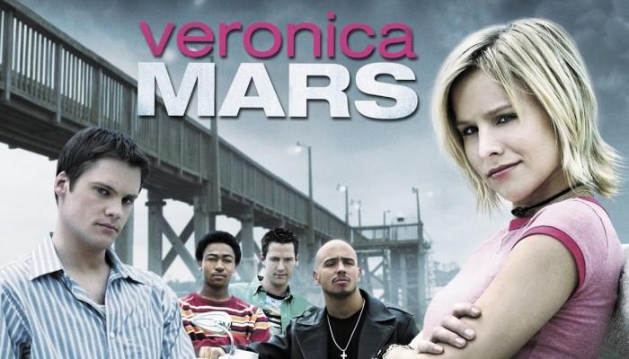 Plakat pierwszego sezonu Veronica Mars przedstawiający główne postaci