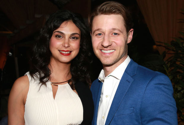 Mandatory Credit: Photo by Amy Sussman/Variety/REX/Shutterstock (5600540ad) Morena Baccarin, Benjamin McKenzie 'Gotham' TV series viewing party at Refinery Rooftop, New York, America - 29 Feb 2016