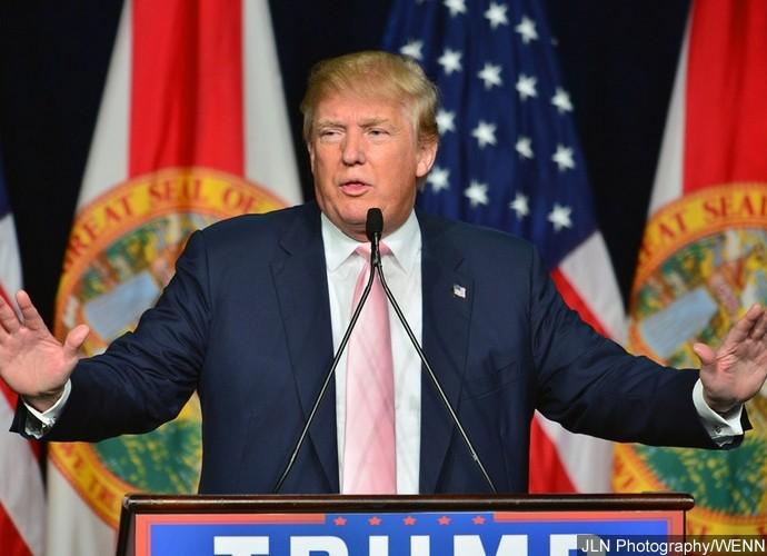 Donald Trump campaign rally at the Trump National Doral Miami