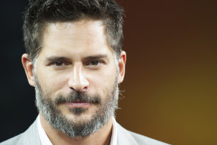 Joe Manganiello visits The Morning Show on Thursday, July 4, 2013, in Toronto, Canada. (Photo by Arthur Mola/Invision/AP)