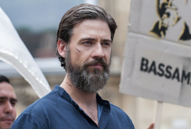 "TYRANT -- ""Pax Abuddin"" -- Episode 212 (Airs Tuesday, September 1,10:00 pm e/p) Pictured: Adam Rayner as Barry. CR: Kata Vermes/FX"