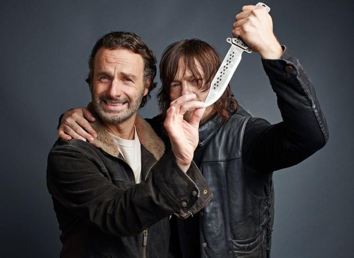 The Walking Dead: Norman Reedus revive su \