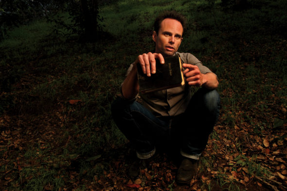 JUSTIFIED: Walton Goggins as Boyd Crowder. CR: Robert Zukerman / FX