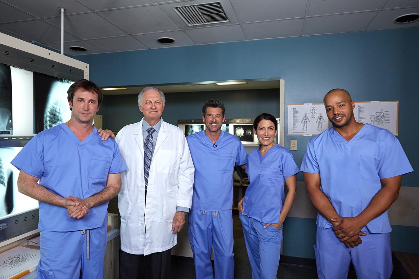 Un anuncio une a los médicos de las series de televisión: Anatomía ...
